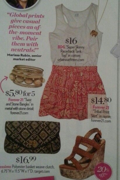 Cute summer outfit...