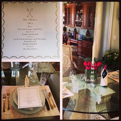 Romantic Valentines Day Dinner In!