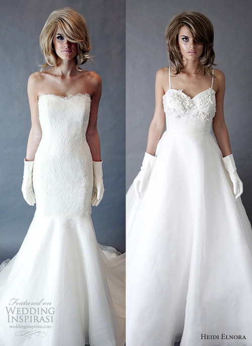 Heidi Elnora Spring 2013 Wedding Dresses    weddinginspirasi....