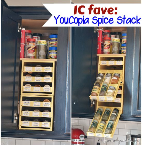 Spice organization system, YouCopia Spice Stack