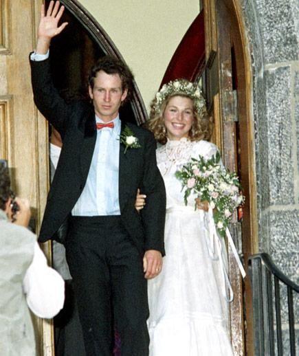 John McEnroe and Tatum O'Neal #celebrity #wedding