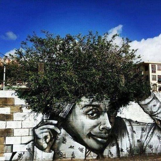 Afro man graffiti edition!!!