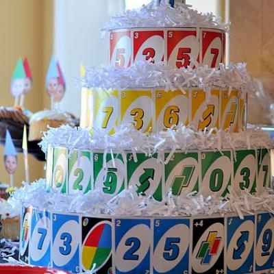 Uno Themed First Birthday Party