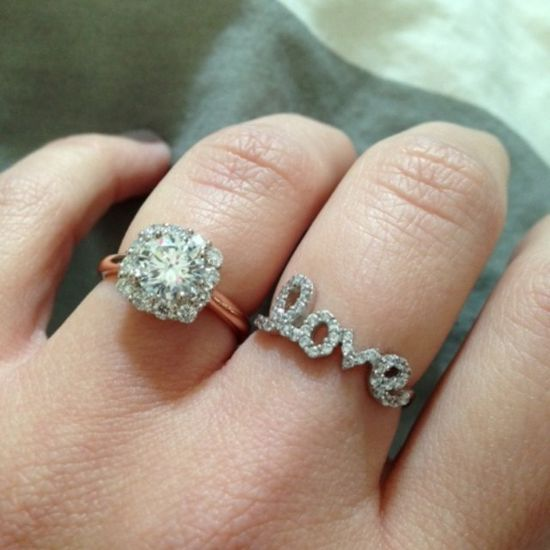 Stone Fox Bride Rings