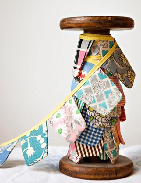 Home : Bunting, Banners, Garlands ... Oh My!  Bump Smitten: DIY Tutorial: Quilt Bunting