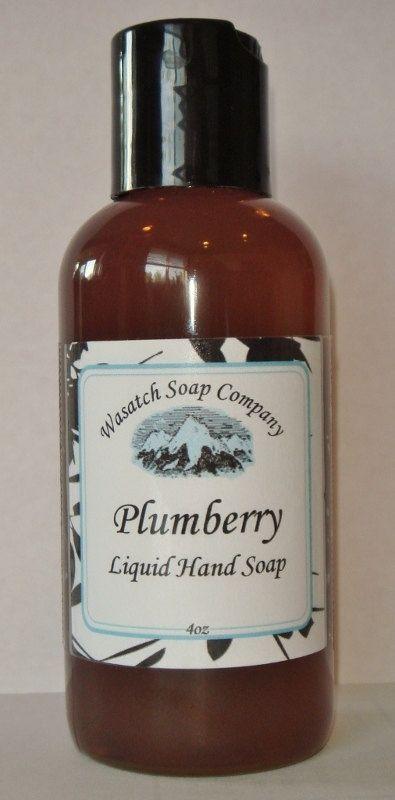 Plumberry Spice Handmade Liquid Soap