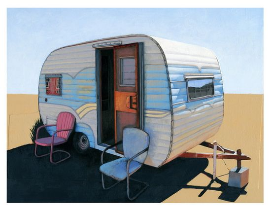 desert camper by Leah Giberson