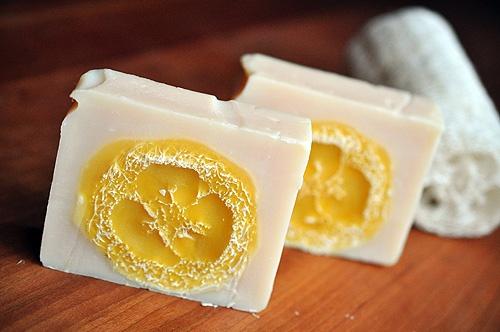Loofah Soap  #diy #beauty #spa #treatment #mask #facial #homemade #loofah #soap