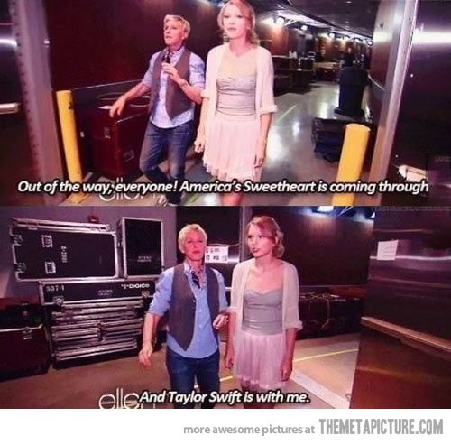 Love Ellen...funny lady that one is
