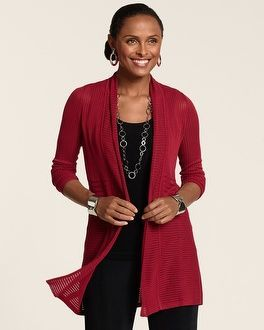 Chico's Travelers Collection Lana Cardigan