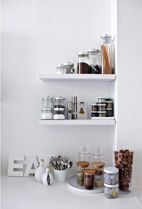 Shelves for the kitchen!