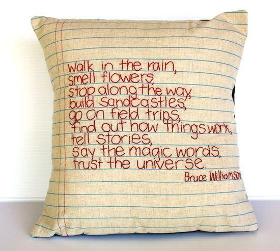 notebook pillow