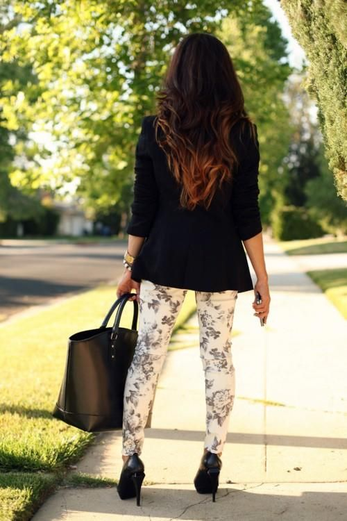 ombre & outfit :)