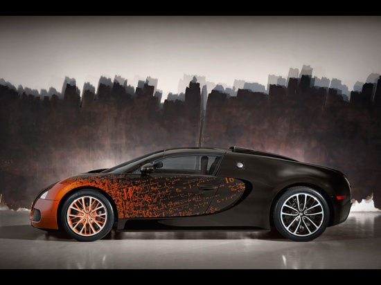 ? 2012 Bugatti Veyron 16.4 Grand Sport by Bernar Venet