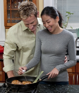 """How To Get An Accurate Meat Thermometer Reading"" (Is it just us, or do they make home food safety look romantic?)"