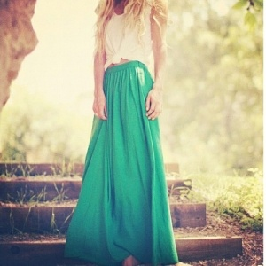 Emerald outfit on 5inchandup #FW12 inspiration