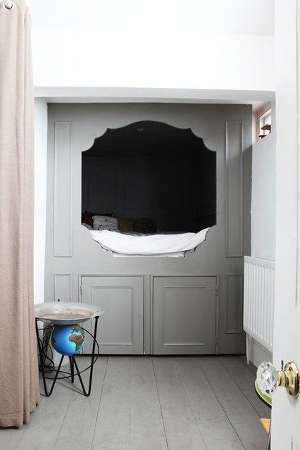 Cool Built In Bed Cubby - Cool Bedrooms Decorating Ideas & Design (EasyLiving.co.uk)