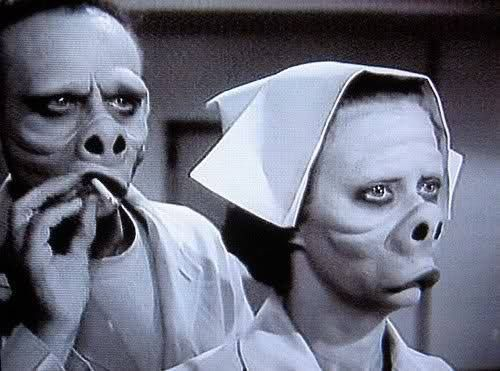 Eye of the beholder - Twilight Zone Classic