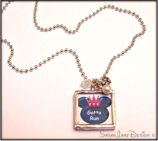 Disney Princess 13.1 Soldered Pendant. $20.00, via Etsy.
