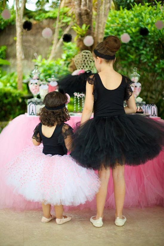 Ballerina in Paris party FULL of cute ideas! Via Kara's Party Ideas KarasPartyIdeas.com #ballerina #paris #party #ideas #supplies