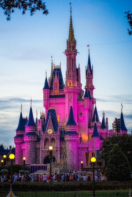 Magic Kingdom - Cinderella Castle by Cory Disbrow, via Flickr