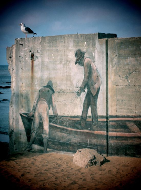 Faux Fishermen #street art #graffiti