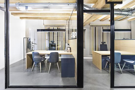 Office Design Zapata & Herrera Office law offices, by +Quespacio