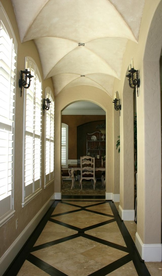 gorgeous floors and ceiling. via www.amysalazarint...