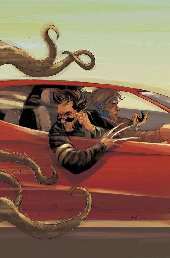 Wolverine & Gambit - Phil Noto