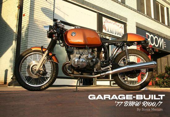 Garage-built – '77 BMW R100/7