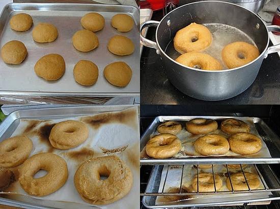 Cinnamon Swirl Bagels {healthy family cookin}