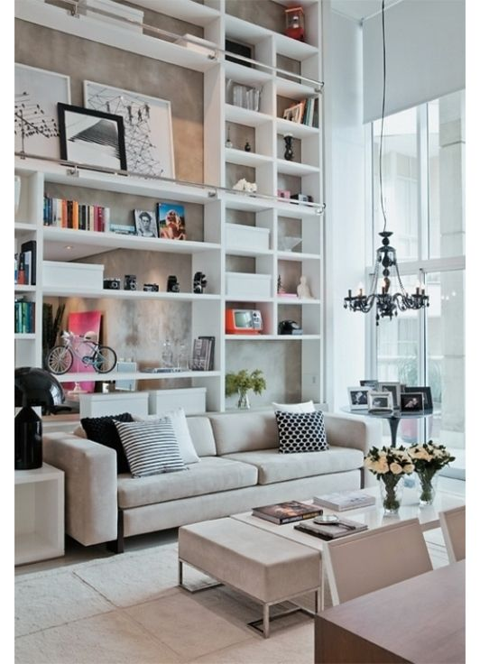 Ah yes, I see a ladder rail. No one has to scale a wall. Home decor design ideas - Home and Garden Design Idea's
