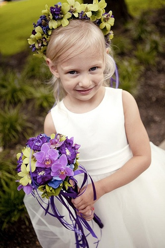 Flower Girl Wand + Headpiece