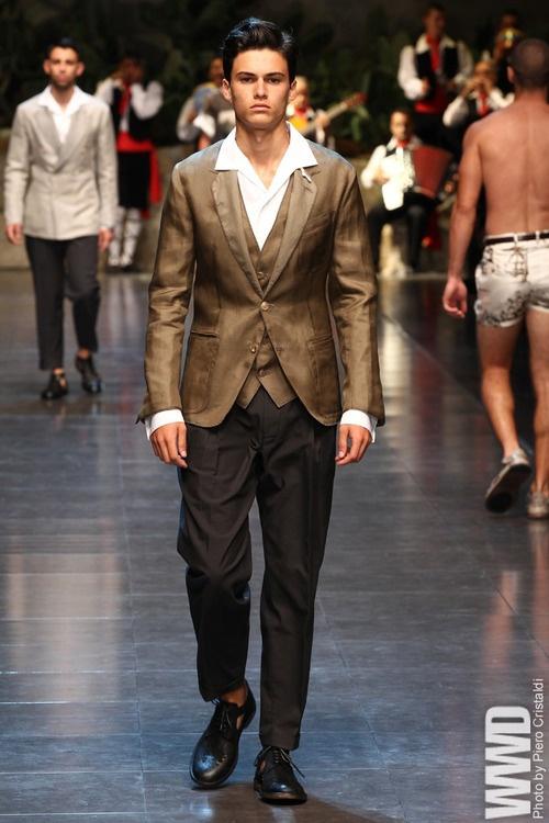 Dolce & Gabbana Men's RTW Spring 2013