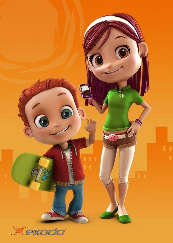 3D Children #character #child #3D