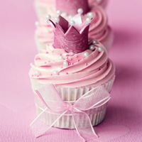 Princess Birthday Party Ideas - tips for decorations, games, favors & food  Cute cupcake