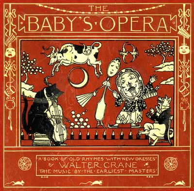 the baby's opera, book cover