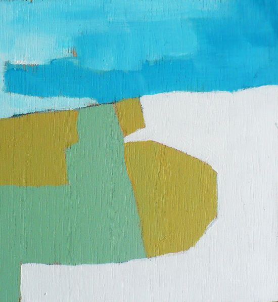 Small Abstract Painting Rumination 13 by MadwithRapture on Etsy