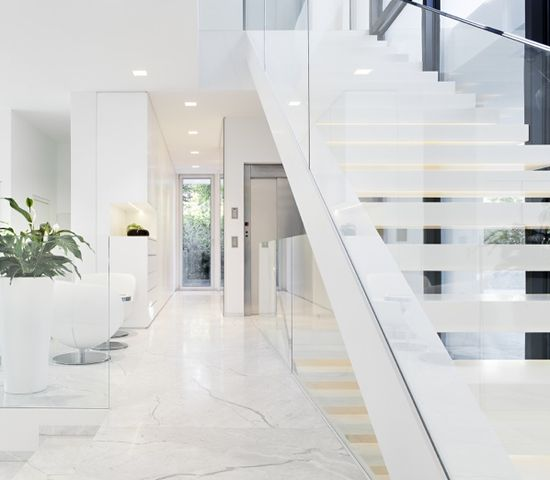 White and modern
