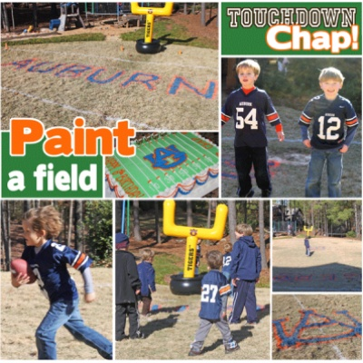 Kids Football Party {superbowl} from Tip Junkie