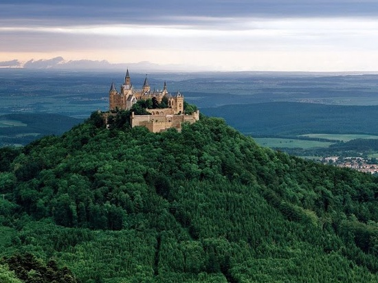 Hohenzollern Castle  Germany.
