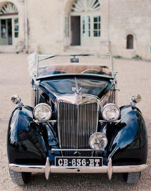 Classic cars are so romantic
