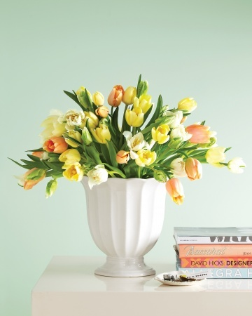 A Simple Tulip Arrangement