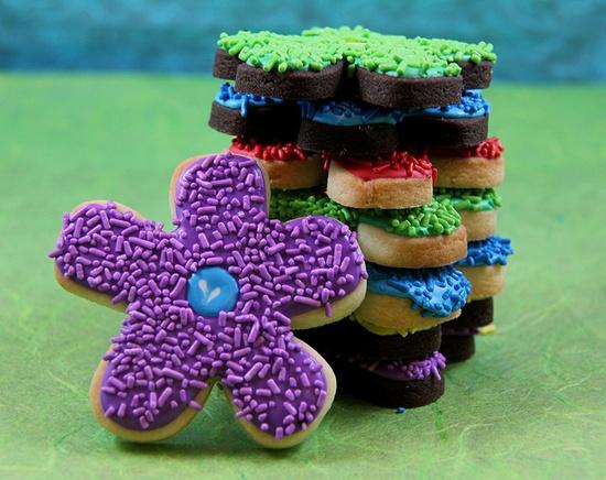 Flower Cookies by Sweet Hope Cookies, via Flickr