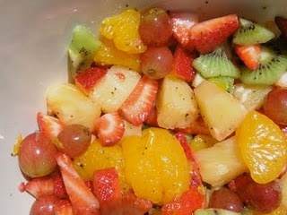 One of my all-time favorite fruit salads
