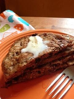 Sweet Paleo Zucchini Pancakes