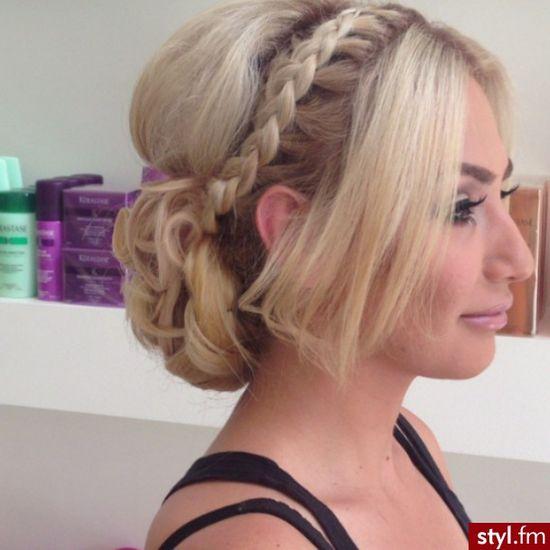 french braid updo #hair #braid #updo