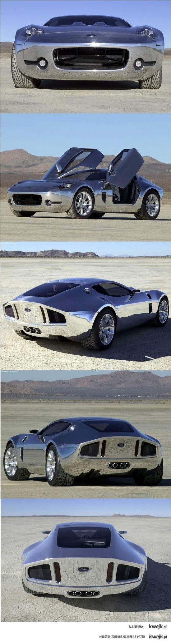 The Ford Shelby GR-1 was a 2.2 million dollar concept car that was created by the Ford Motor Company. It was first introduced at the 2005 North American International Auto Show. The GR-1 was created with the inspiration from the Shelby brand. It was inspired by and bears resemblance to the Shelby Daytona.
