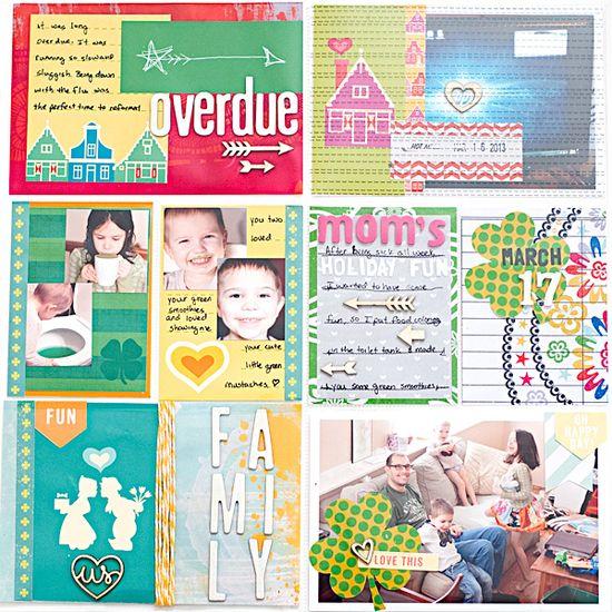 Project Life 2013 - Week 11 - Right - Scrapbook.com
