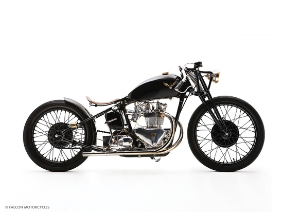 Custom Motorcycle - The Bullet - Falcon motorcycles